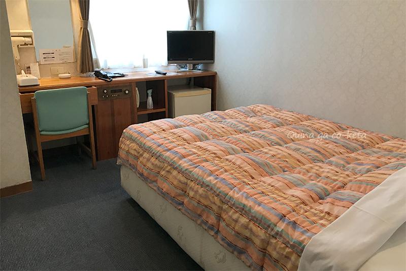 ホテル国際プラザのダブルルーム宿泊レポート