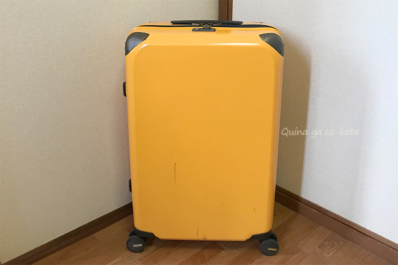 プラスワン社のスーツケースLサイズ74L