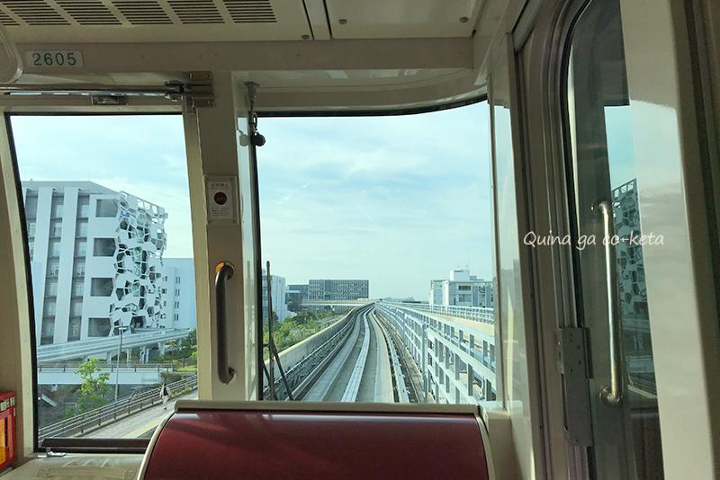 神戸空港まではポートライナーで