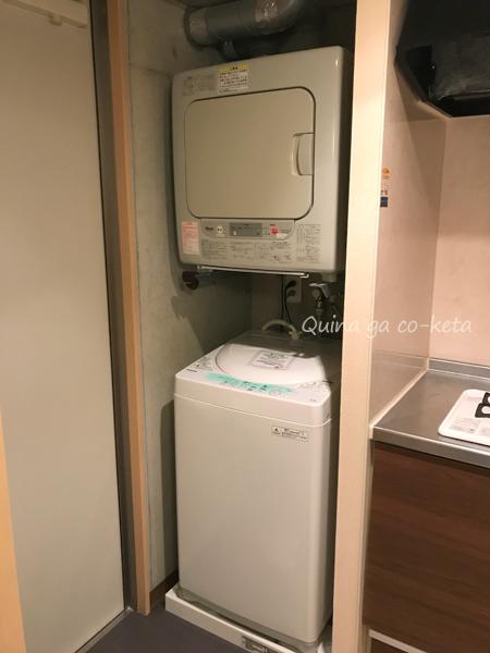 室内にある洗濯機と乾燥機(コンドミニオマキシ/那覇市牧志)