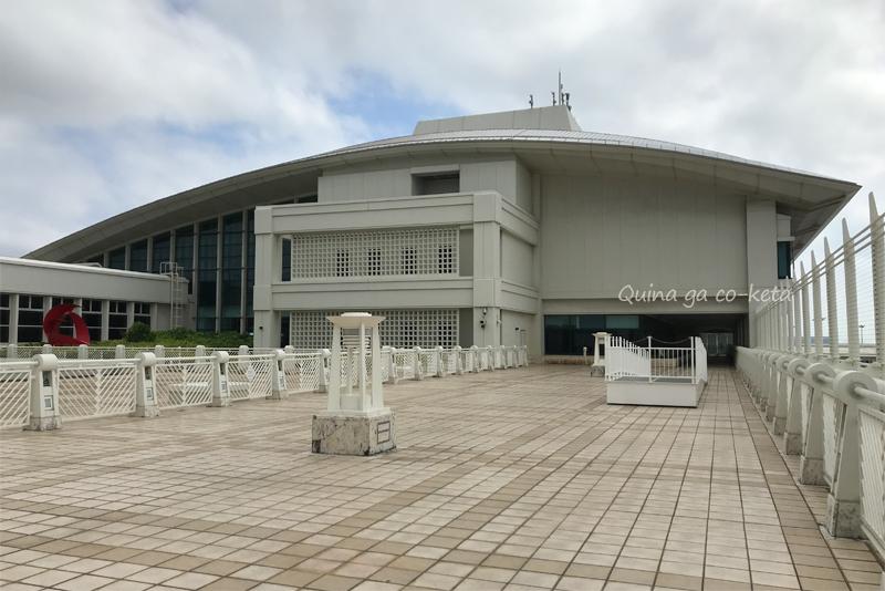 那覇空港3階の見学者デッキ