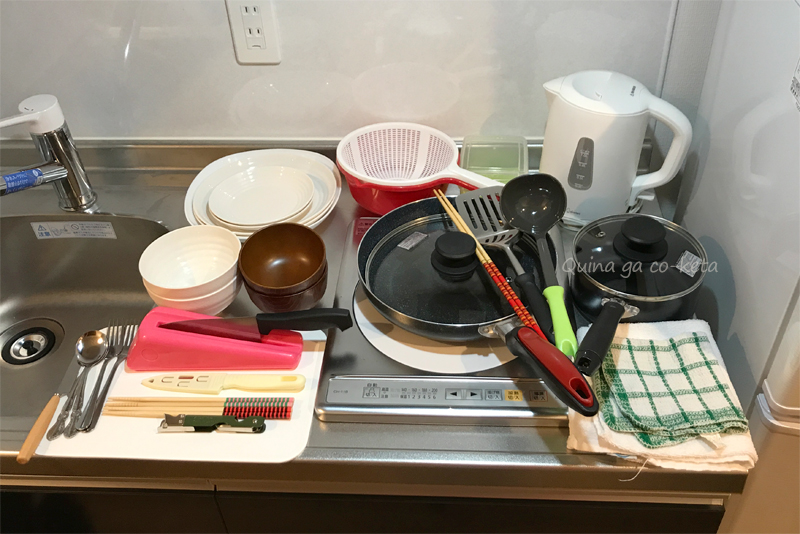 有料オプションの食器セット(Mr.KINJO in 西崎 別館/糸満市)