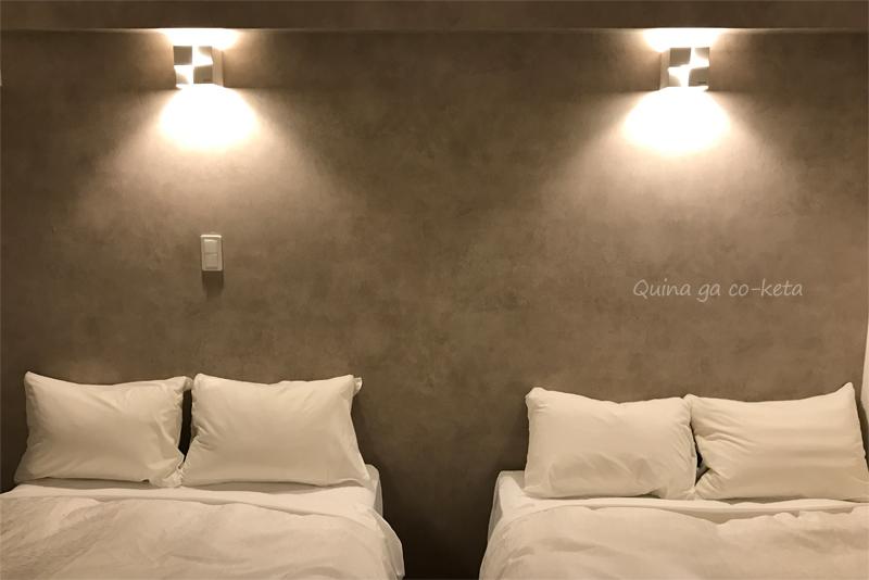 ツインのベッド(Mr.KINJO in 西崎 別館/糸満市)