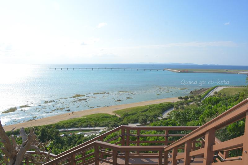 瀬長島展望広場から西側の景色(豊見城市瀬長)