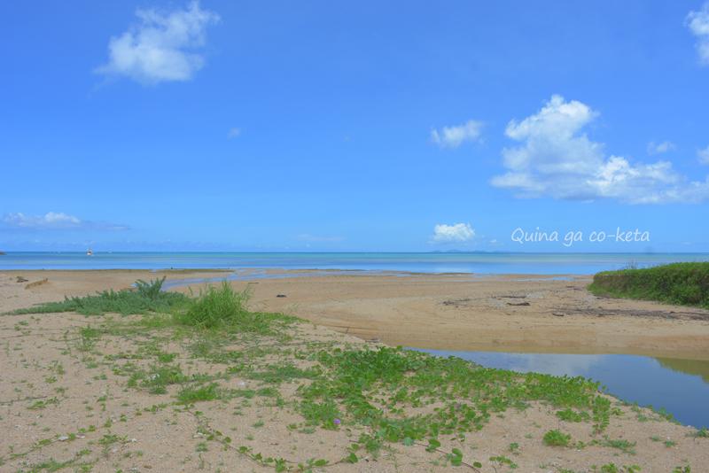 買い物ついでに海を見に(2020年7月沖縄本島北部)