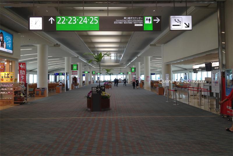閑散としていた那覇空港(2020年7月中旬)