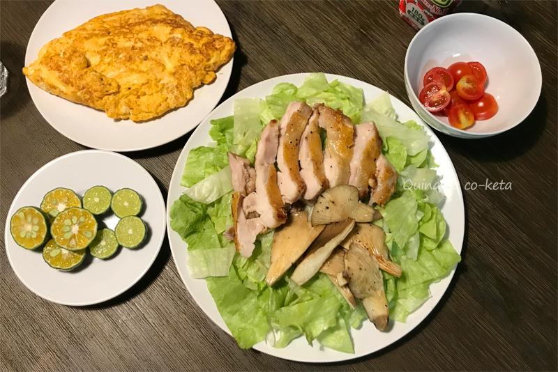 withコロナの沖縄旅行で自炊した引きこもりディナー