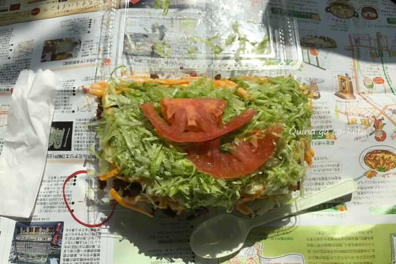 キングタコス本店の「タコライスチーズ野菜」