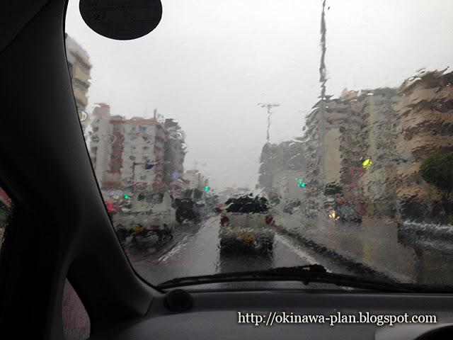 2015年沖縄の梅雨入り当日