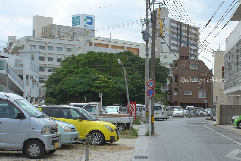 ブラタモリ沖縄-那覇編で歩いていた長虹堤の名残り