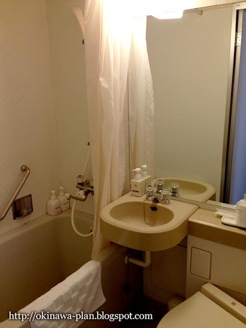 那覇グランドホテルのお風呂