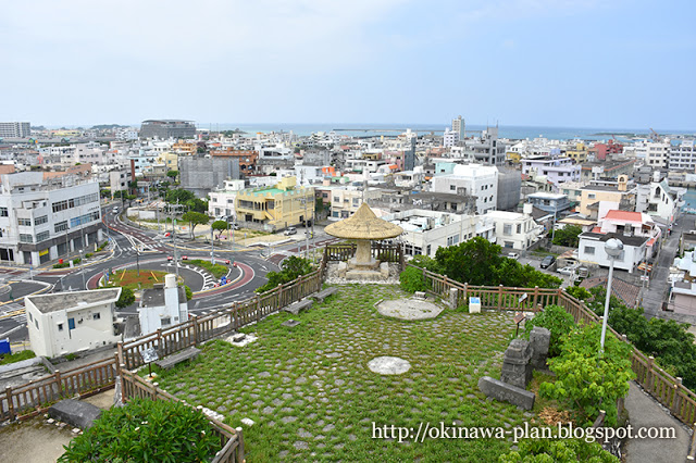 沖縄旅行最終日の史跡めぐり-山巓毛(さんてぃんもう)公園展望台