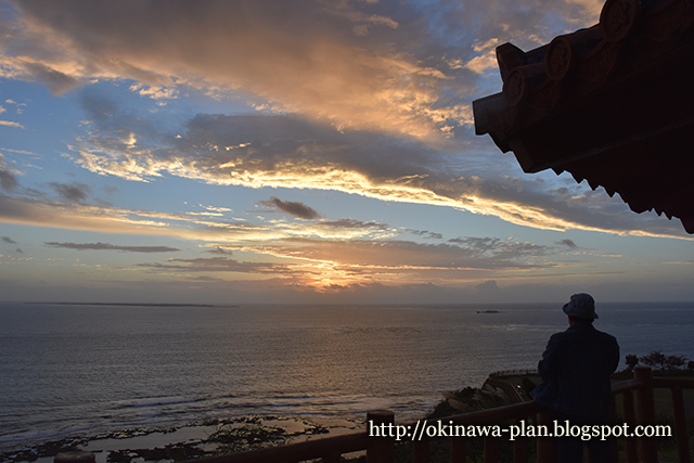 2016年冬至の日の出-沖縄旅行記