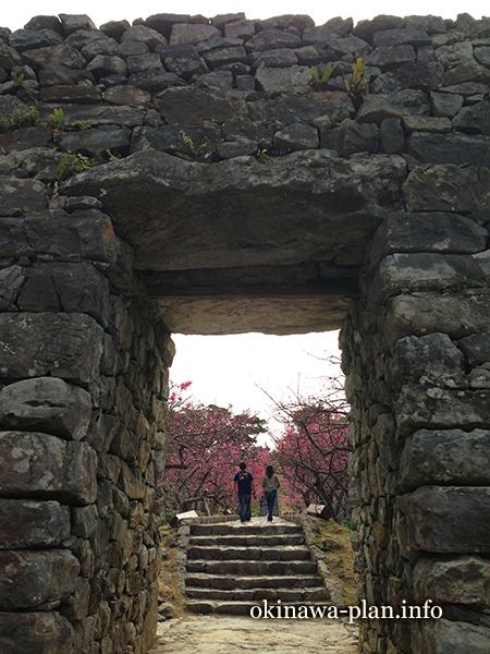 今帰仁城跡(今帰仁グスク)の平郎門
