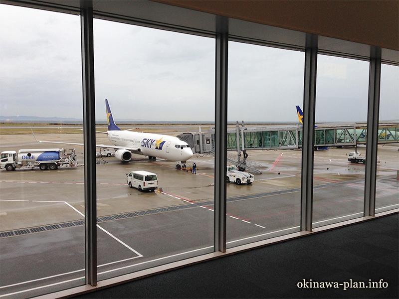 神戸空港のスカイマーク