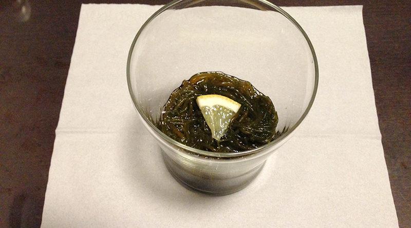 沖縄生もずくの三杯酢