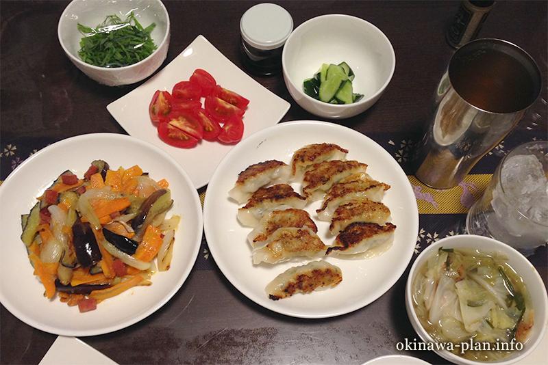 沖縄自炊料理(残り物一掃メニュー)