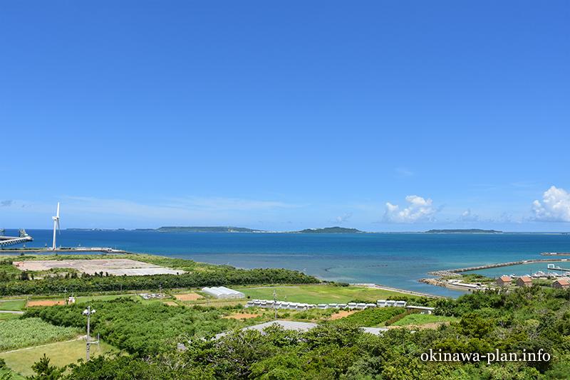 沖縄本島の見晴らしがいい場所(野鳥の森展望台/うるま市)