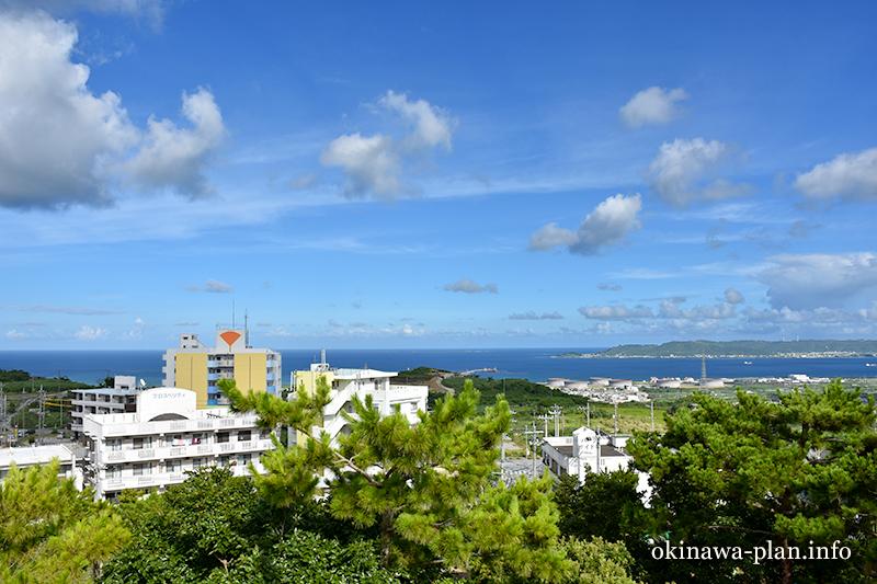 沖縄本島の見晴らしがいい場所(上原高台公園/西原町)