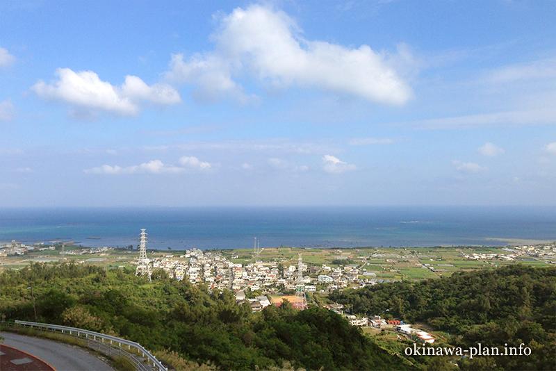 沖縄本島の見晴らしがいい場所(東太陽橋/中城村)
