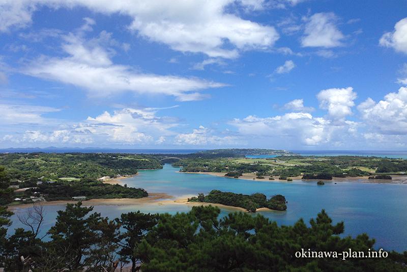 沖縄本島の見晴らしがいい場所(嵐山展望休憩所/名護市)