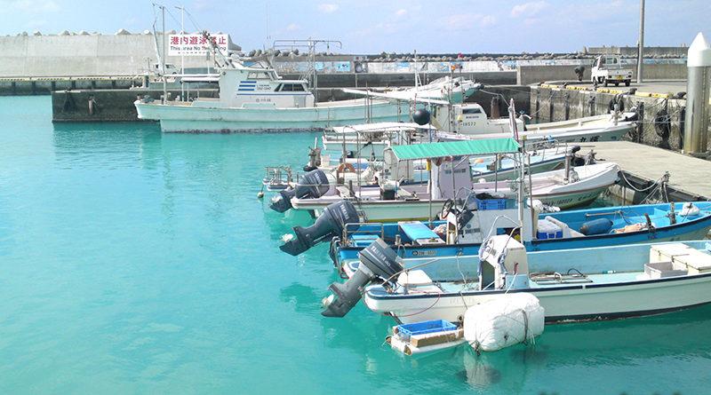 読谷村都屋漁港