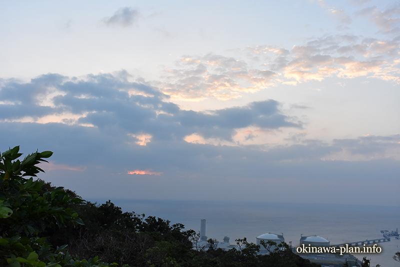 2016年12月23日7時24分の空模様