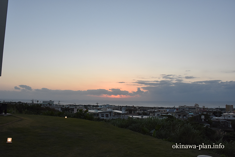 12月の沖縄の天気(2016年12月24日17:44沖縄県中頭郡読谷村)