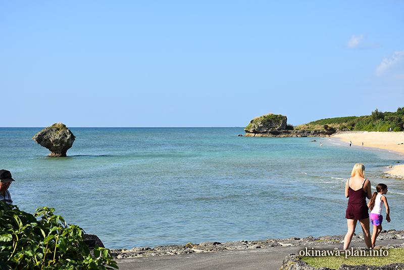 12月の沖縄の天気(2016年12月26日14:42読谷村・渡具知ビーチ)