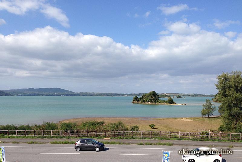 12月の沖縄の天気(2016年12月24日12:54沖縄県名護市羽地の駅)