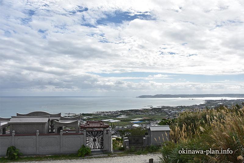 12月の沖縄の天気(2016年12月28日12:33沖縄県中頭郡中城村・ペリーの旗立岩付近)