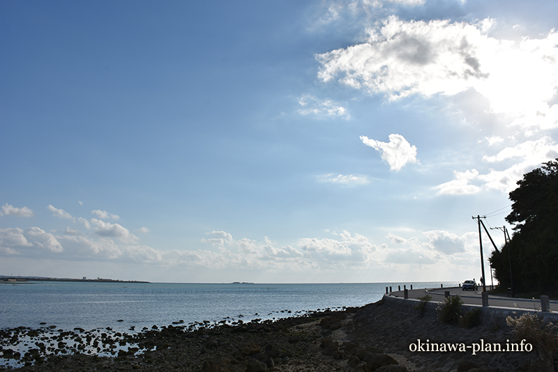 12月の沖縄の天気(2016年12月31日15:39沖縄県豊見城市瀬長島)