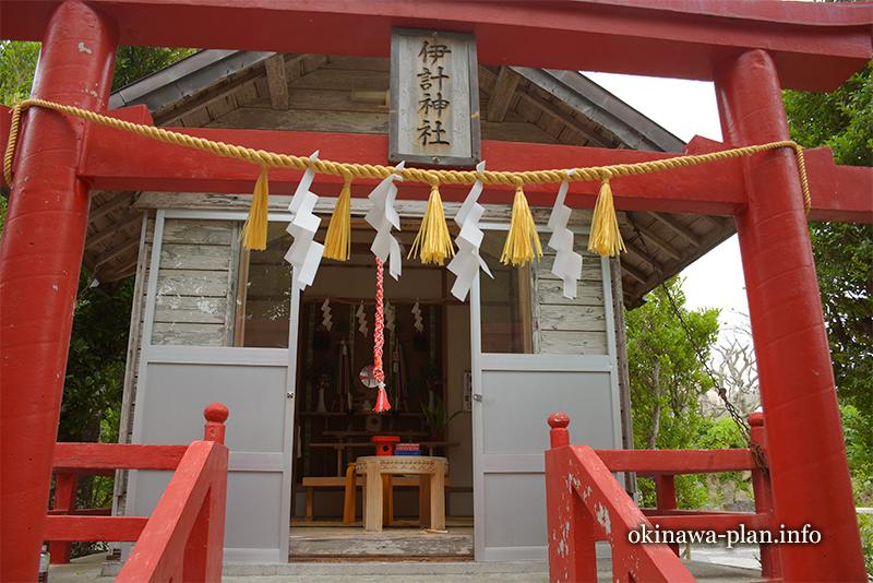 伊計神社(うるま市伊計島)