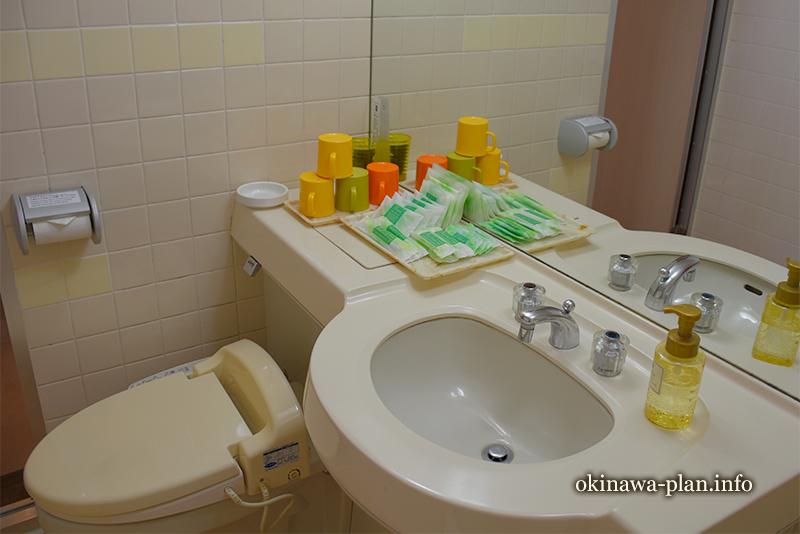 サンパレス球陽館和洋室のトイレ