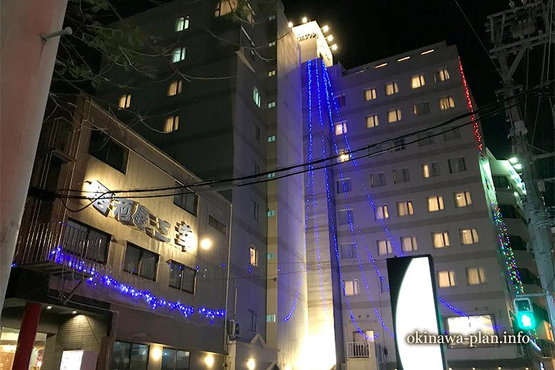沖縄サンプラザホテル併設の居酒屋三幸