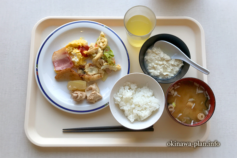 沖縄サンプラザホテルの朝食