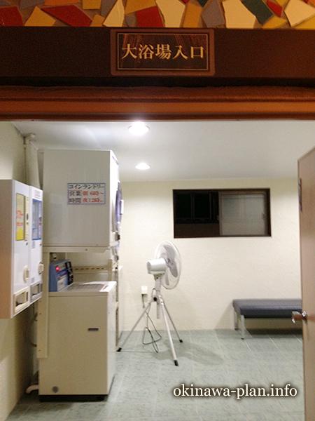 沖縄サンプラザホテル大浴場入口