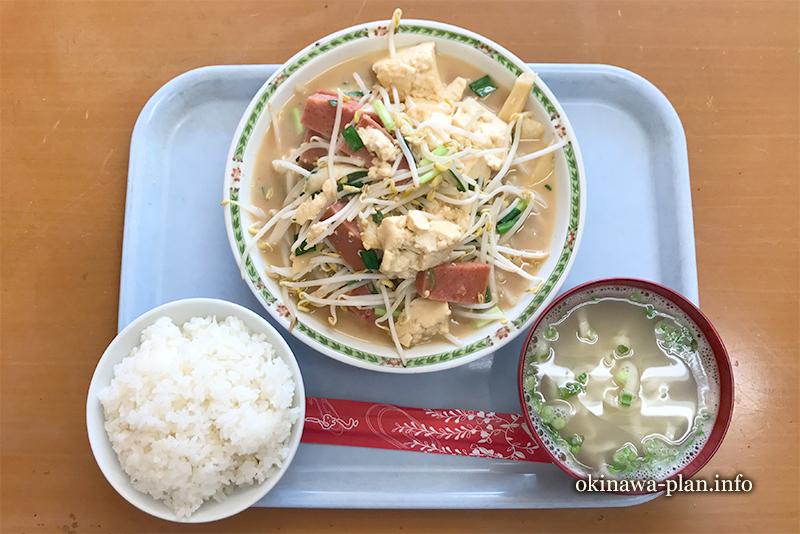 お食事の店 純の豆腐チャンプルー