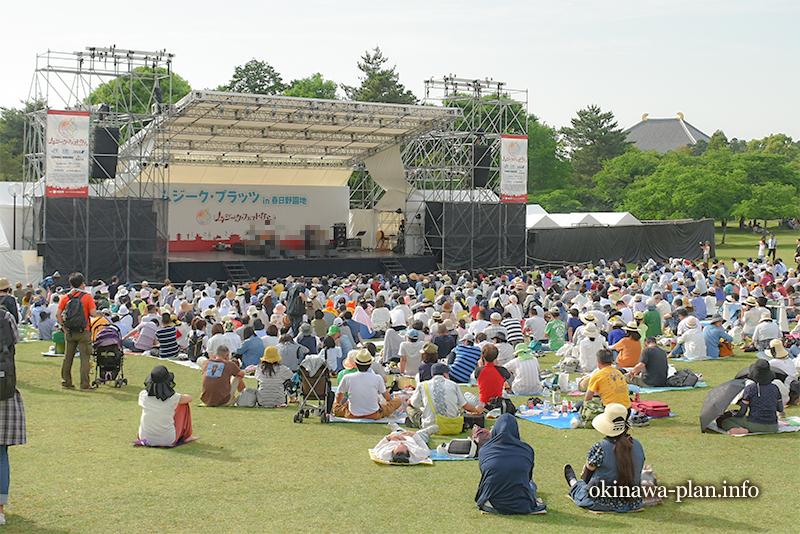 ムジークフェストなら2018沖縄フェストのステージ