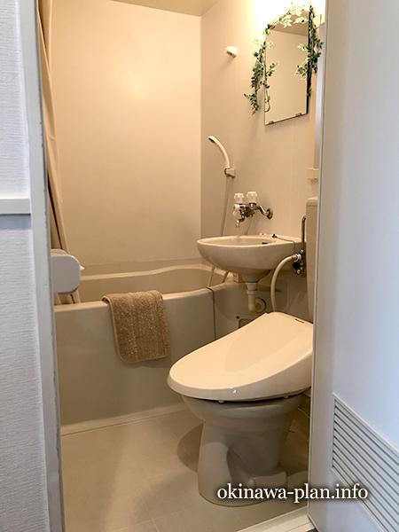 【本部町】レモンハウス ナチュラルツインルームのバス・トイレ