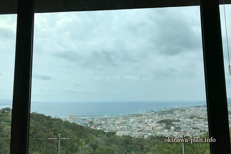 ビジターセンターSubacoの3階から見える海【名護市】