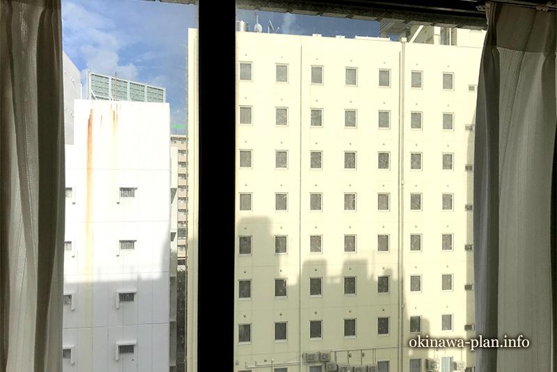 琉球サンロイヤルホテルツインルームからの眺望