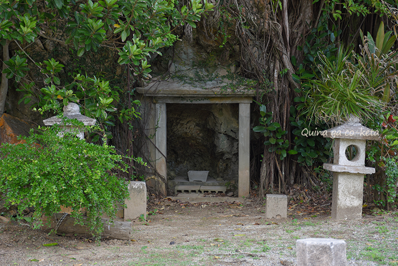 渡波屋(トワヤー)の祠(名護市屋部)