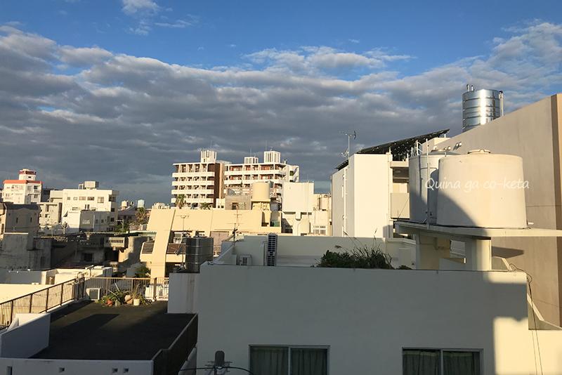 住みんちゅホテル前島5階から眺望【那覇市前島】