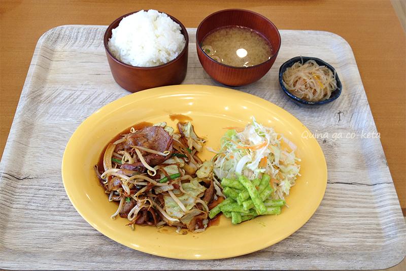 なんじぃJr.の豚焼肉定食