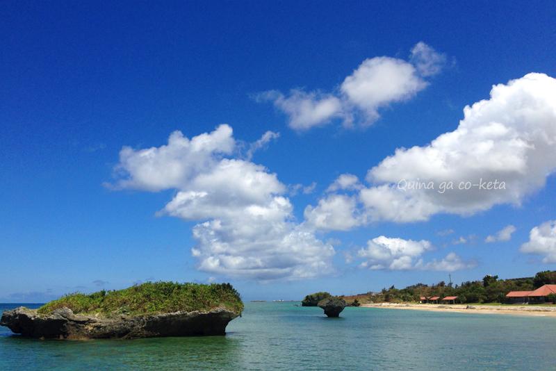 ホテル日航アリビラから「渡具知ビーチ」へは車で約20分