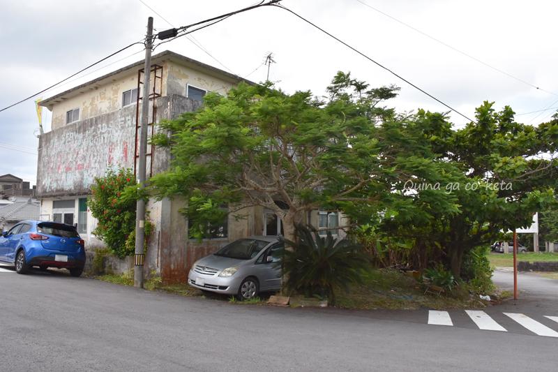 映画の舞台となった小さなホテルのロケ地(名護市辺野古)