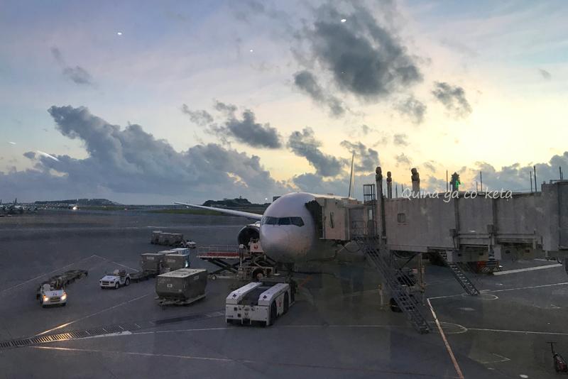 那覇空港発伊丹行きJAL2088便